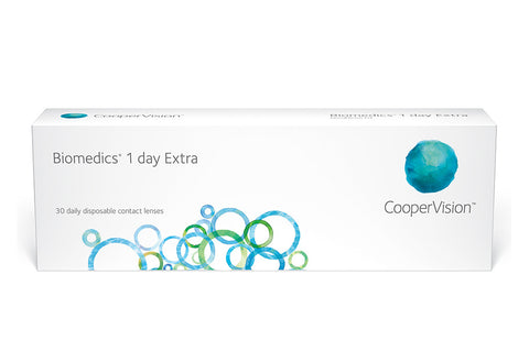 Biomedics 1 Day Extra - 30 Pack Contact Lenses $26.99 Express Post
