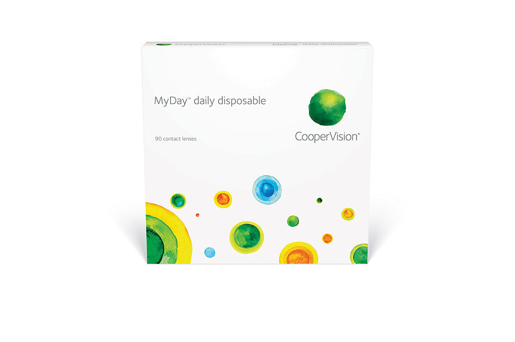 MyDay - 90 Pack Contact Lenses $99.99 Express Post