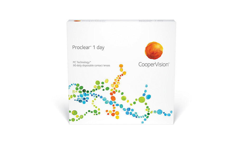 Proclear 1 Day - 90 Pack Contact Lenses $67.99 Express Post