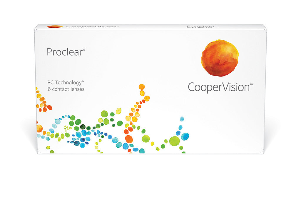 Proclear - 6 Pack Contact Lenses $59.99 Express Post