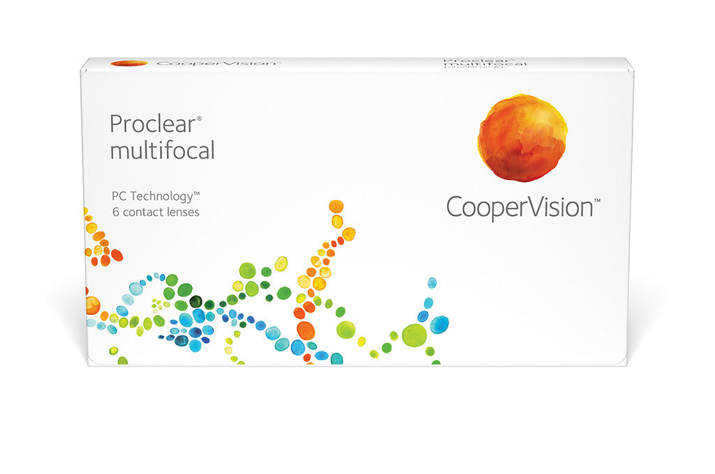Proclear Multifocal NEAR Contact Lenses - 6 Pack Contact Lenses $117.99 Express Post