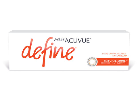 1 DAY ACUVUE DEFINE Natural Shine - 30 Pack Contact Lenses $41.99 Express Post