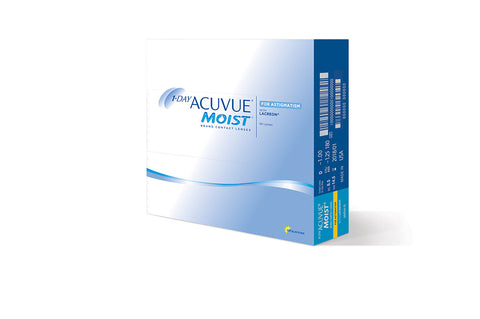1 DAY ACUVUE MOIST for Astigmatism - 90 Pack Contact Lenses $94.99 Express Post