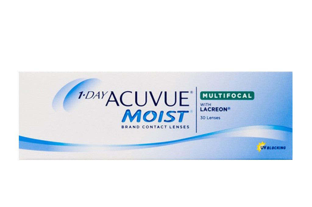 1 DAY ACUVUE MOIST MULTIFOCAL - 30 Pack Contact Lenses $49.99 Express Post