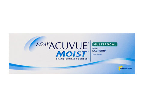 1 DAY ACUVUE MOIST MULTIFOCAL - 30 Pack Contact Lenses $45.99 Express Post