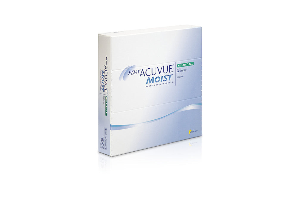 1 DAY ACUVUE MOIST MULTIFOCAL - 90 Pack Contact Lenses $120.99 Express Post