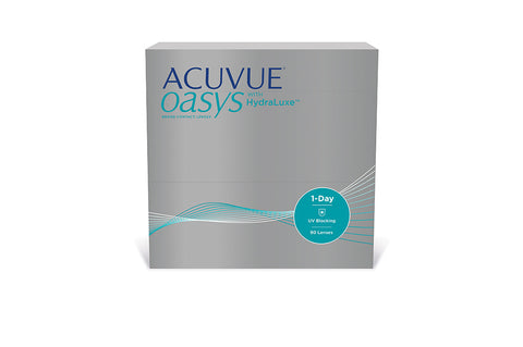 1 DAY ACUVUE OASYS with HYDRALUXE - 90 Pack Contact Lenses $109.99 Express Post