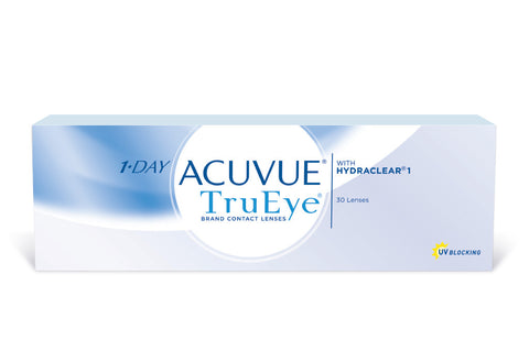 1 DAY ACUVUE TruEye - 30 Pack Contact Lenses $37.99 Express Post
