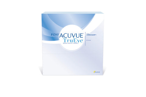 1 DAY ACUVUE TruEye - 90 Pack Contact Lenses $94.99 Express Post