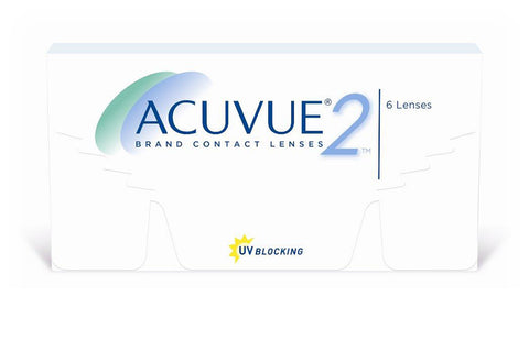 ACUVUE 2 - 6 Pack Contact Lenses $33.99 Express Post