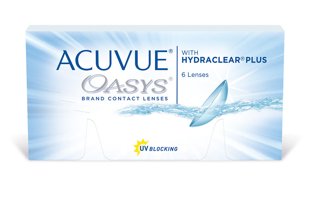 ACUVUE OASYS with HYDRACLEAR PLUS - 6 Pack Contact Lenses $39.99 Express Post
