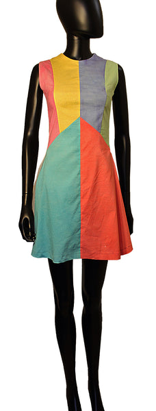 african inspired - color block sundress - herbert victoria - elevin - 3