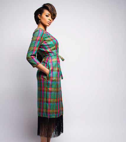 odell duster coat dress - Dpipertwins - main