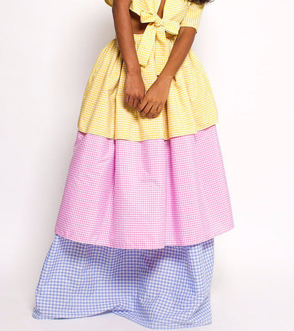 three tiered gracie skirt - dpiper twins - main