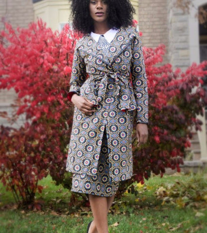 maame aba dress duster coat - Kaela Kay - main