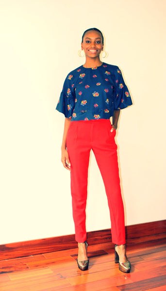 Red skinny pants - Undra Celeste New York - 4