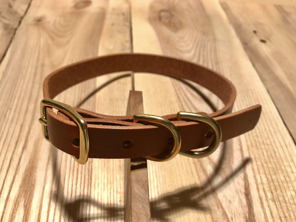 Argos Gear Reba Leather Dog Collar - Collars - Argos Dog Gear - Made in the USA - Guaranteed for Life - Ready for Every Adventure - Copyright all rights reserved