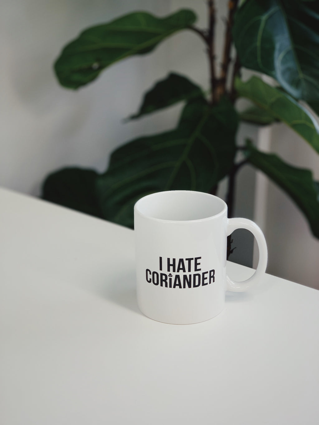 I Hate Coriander Coffee Mug