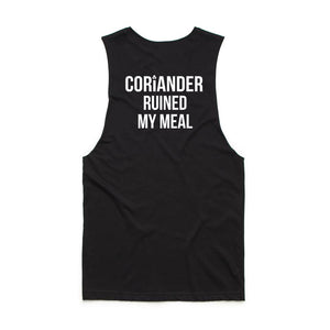 Coriander Ruined My Meal Tank