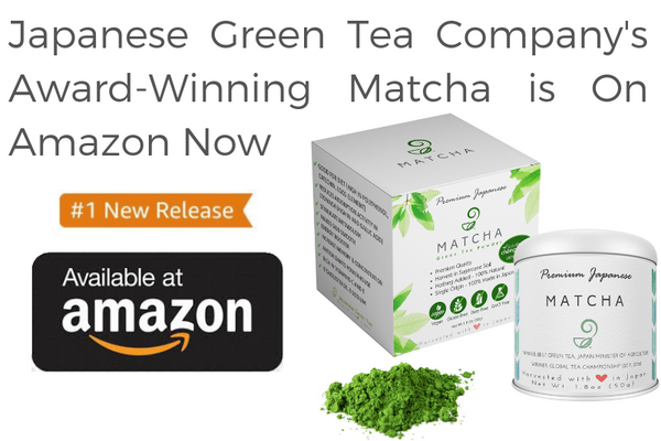 Japanese Green Tea Company's Award-Winning Matcha is On Amazon Now