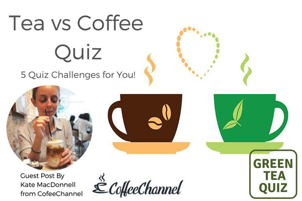 Tea vs. Coffee Quiz - 5 Quiz Challenges for you