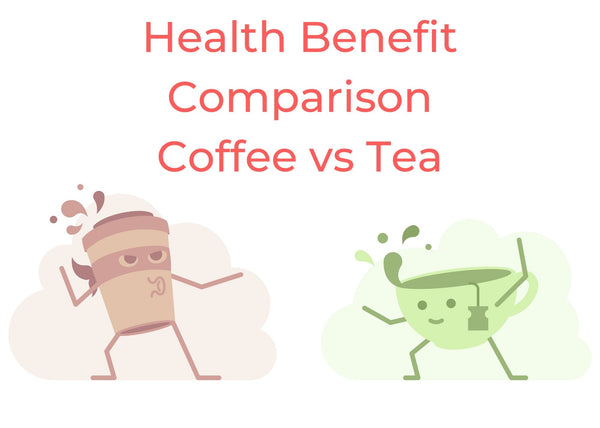 Health Benefit Comparison - Coffee vs Tea