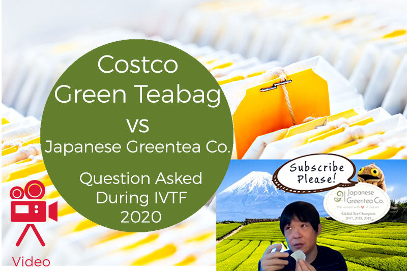 Costco's Green Teabags vs Japanese Greentea Co's Teabags - What are the differences? Q&A