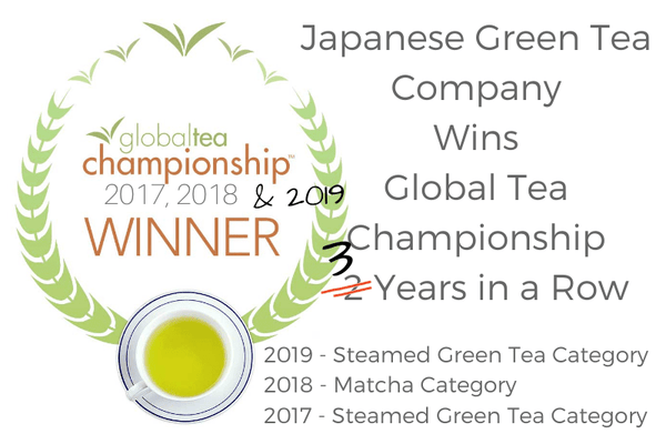 Japanese Green Tea Company Wins Global Tea Championship 3 Years in a Row