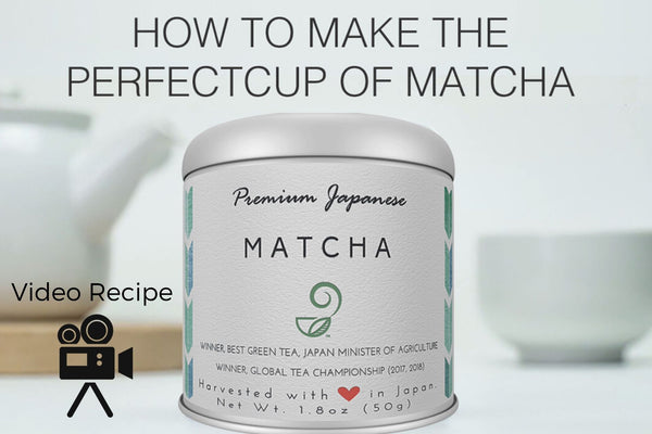 How to Make the Perfect Cup of Matcha - Video Recipe