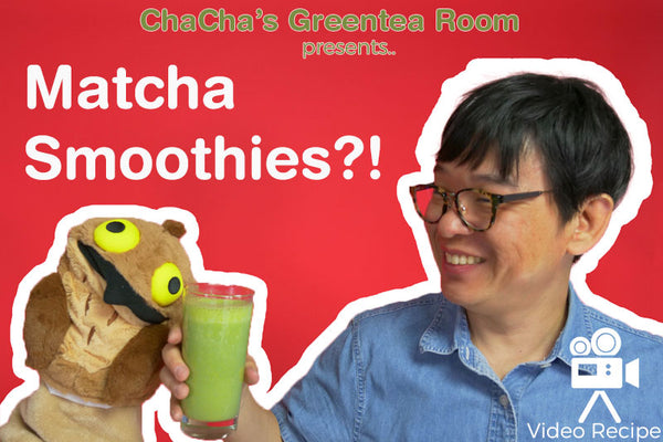 How to Make Matcha Smoothie - ChaCha's GreenTea Room Video