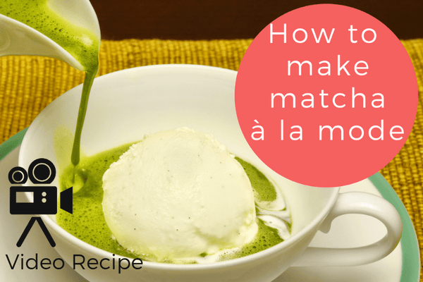 How to Make Matcha À La Mode (Matcha Ice Cream)