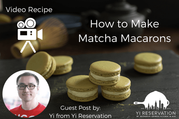 How to Make Matcha Macarons - Video Recipe