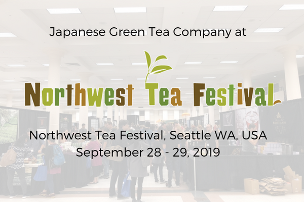 Japanese Green Tea Company at Northwest Tea Festival 2018, Seattle WA