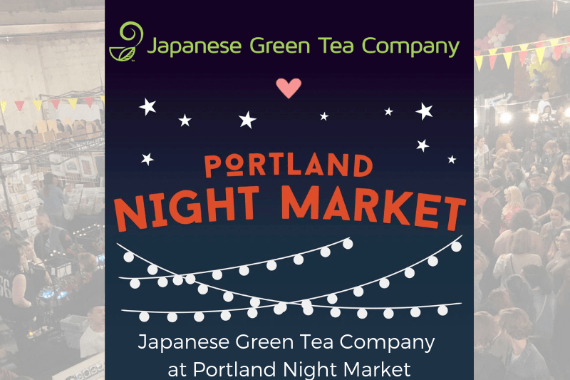 Japanese Green Tea Company at Portland Night Market