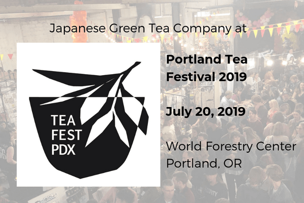Japanese Green Tea Company at Portland Tea Festival 2019
