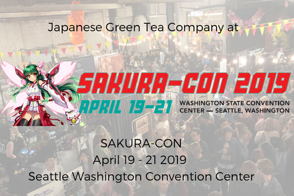 Japanese Green Tea Company at Sakura-Con 20019, Seattle WA