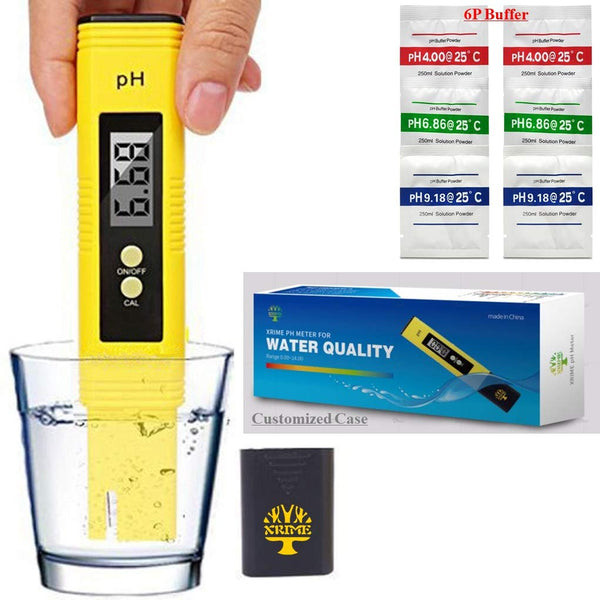 a Good pH Tester for testing water