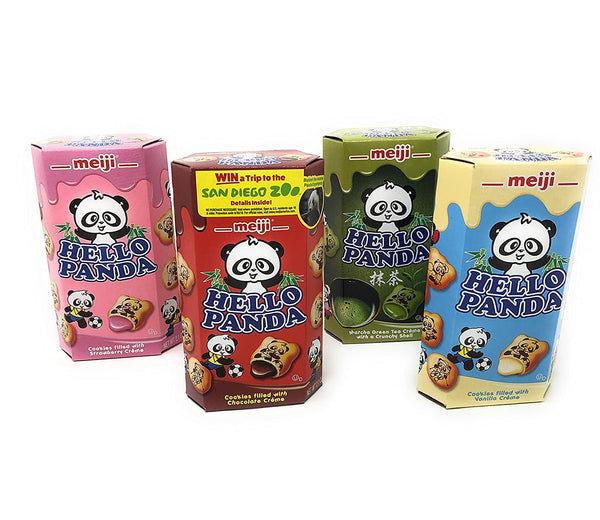 Hello Panda Biscuits (10 Pack)