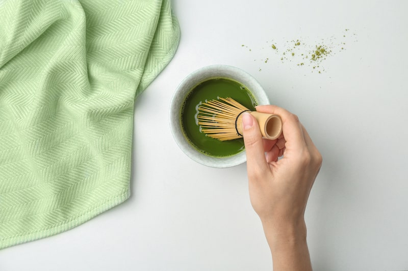 Chasen is a bamboo whisk for making Japanese matcha green tea