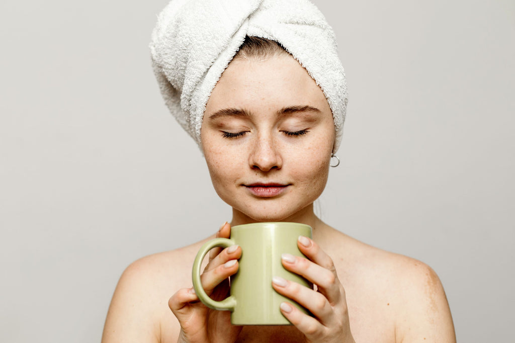 Catechins are a type of antioxidant which improves skin health