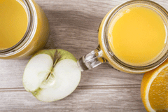 Apple, Lemon and Ginger Green Tea Smoothie