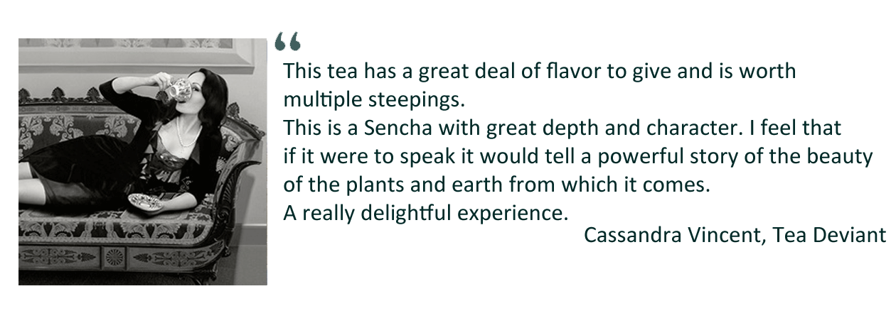 Testimonial from Tea Deviant