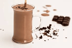 Chocolate Banana Green Tea Smoothie