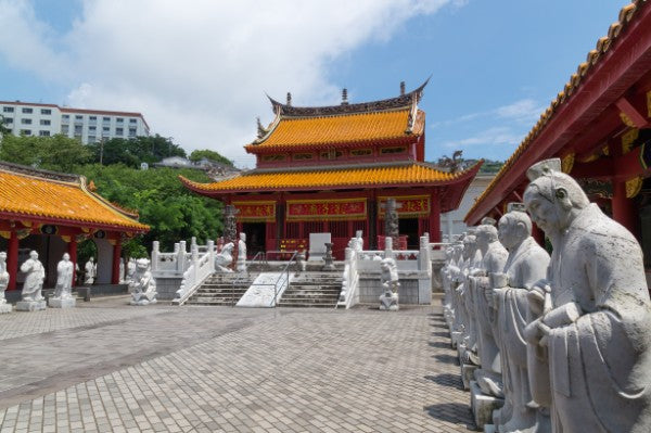 Confucian Temple in Nagasaki, Japan