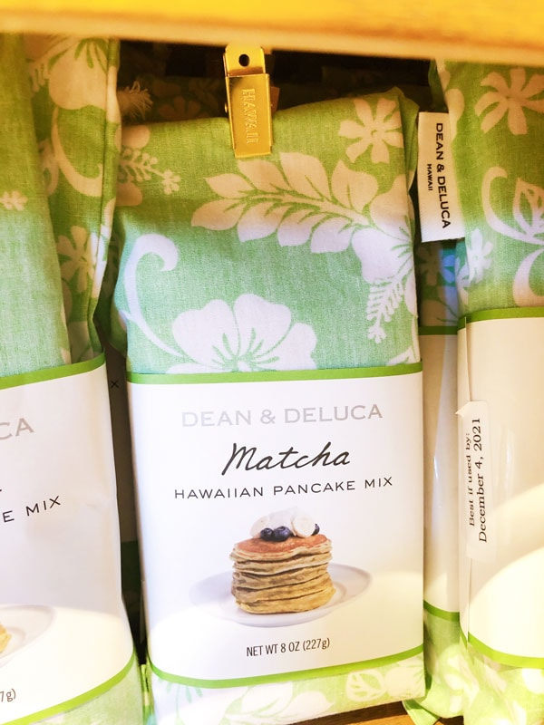 Dean and Deluca - Matcha Pancake Mix