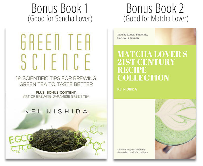 Green Tea and Matcha Books for Bonus