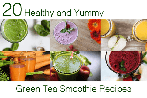 20 Yummy and Healthy Green Tea Smoothy Recipes