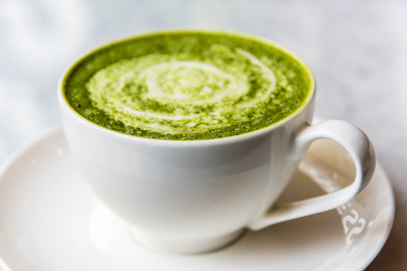 Green Tea Matcha Latte can be good for blood pressure