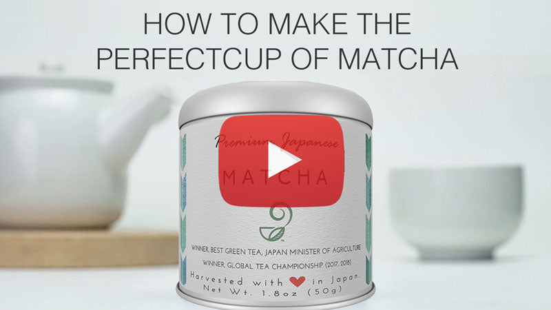 How to Make Perfect Cup of Matcha
