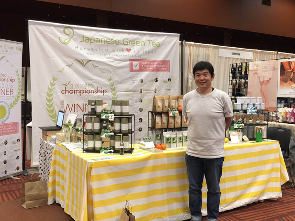 Japanese Green Tea Company and Kei Nishida at Japan Fair 2019